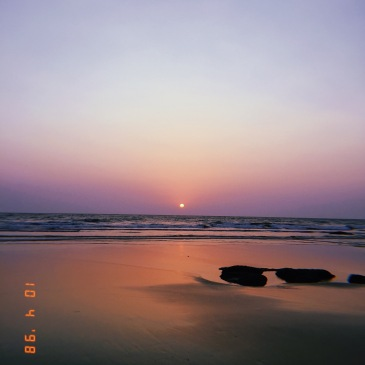 Ashvem Beach, Goa, India, April 2019