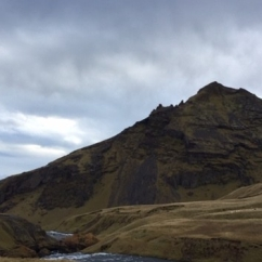 River Skogar, Skogafoss, South Iceland, October 2018