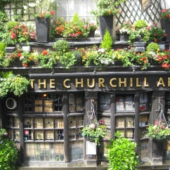 The Churchill Arms, London