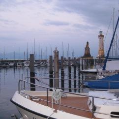 Pier at Lindau, Germany