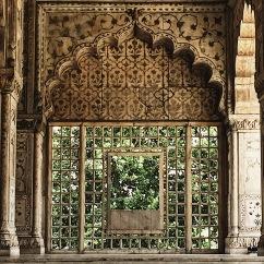 Khas Mahal, Red Fort, New Delhi, July 2019